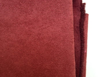 """Upholstery - 100% Polyester Ultra Suede  1 yd (36"""") x 58"""" Rust"""