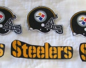 "Pittsburgh Steelers ""NO SEW"" Appliques"