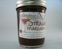 Jam and Jelly, Strawberry Margarita  jam, handcrafted, and Homemade by Beckeys Kountry Kitchen