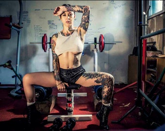 Gym - Gogo Blackwater print