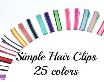 Hair Clips for Girls, Hair Clips Women, Hair Clip, Baby Hair Clips, Simple Hair Clip, Toddler Hair Clips, Alligator Clips, Small Hair Bows