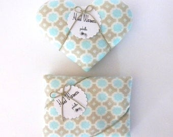 Hand Warmers - Choice of Hearts or Rectangles Gray Sunshine