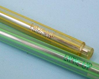 Kutsuwa Pen Line Up Striped Ballpoint Pen 1980s Japanese Writing Supplies Kawaii Stationery