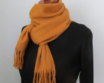 Honey Soft Scarf, Long Soft  Scarf,  Warm and beautiful.Women,Men, Gift for her, Christmas gift,