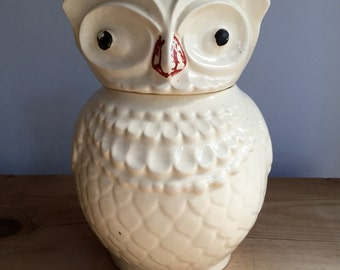 Wise Old Owl Charming Cookie Jar