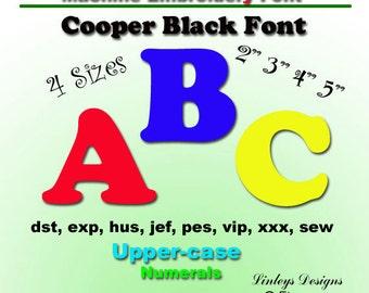 Download Machine Embroidery Cooper Applique Font.
