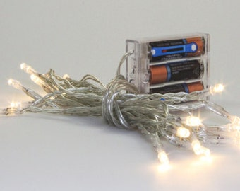 Christmas Lights battery operated by Northcott