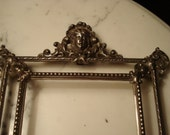 Victorian or Beaux Arts Style Metal Frame for Re-purposing