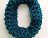 Child Cowl Toddler Scarf - Teal Toddler Scarf - Toddler Infinity Scarf - Toddler Cowl -Child Scarf - Baby Scarf - Girl's Scarf - Girl's Cowl