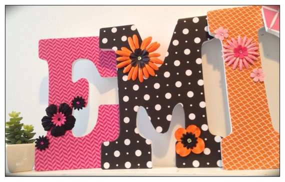 Baby Girl. Pink and Black. Girls Nursery Letters. Pink and Black. Glenna Jean Coordinating. Girls Nursery Letters. Name letters. Kirby.