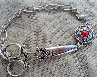 Silver Fiesta Bracelet