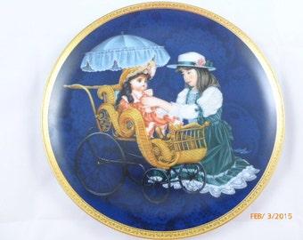 SALE Hamilton Collection Jocelyn and Jeanette Karen Noles Timeless Friends Plate 1988