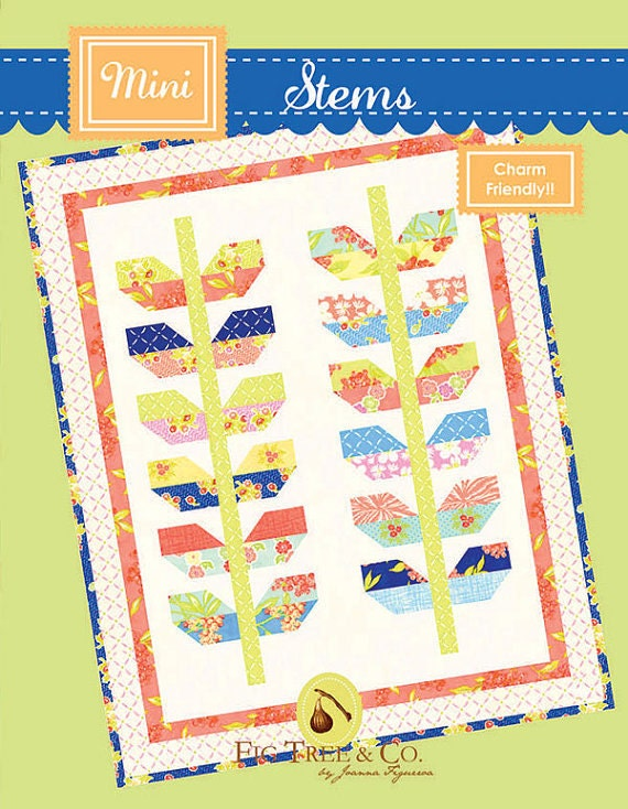 Stems Quilt Pattern Fig Tree : Fig Tree Co. Mini Stems Quilt Pattern by Joanna Figueroa