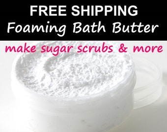 Foaming Bath Butter – Just Whip & Add Fragrance - 10 lbs.