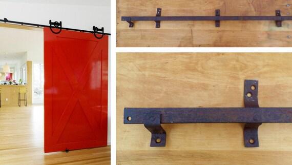 8 Foot Antique Barn Door Track Sliding Track Hardware