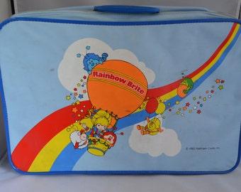 Vintage Rainbow Bright Luggage Suitcase (1983 Hallmark)