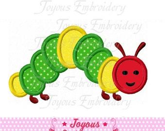 Instant Download Caterpillar Embroidery Applique Design NO:1613