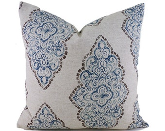 Pillow Covers ANY SIZE Decorative Pillow Cover Brown Pillow Premier Prints Monroe Cadet Oatmeal