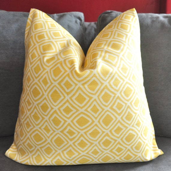 Floor Pillow Covers 25x25 : Set of TWO 25x25 inch Pillow Covers Decorative Pillow Throw