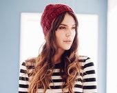 Super chunky knit beanie hats skull caps beanies unisex toque women's winter accessories crochet knit handmade