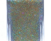 Ocarina of Time - handmade mulichrome chameleon flakies nail polish