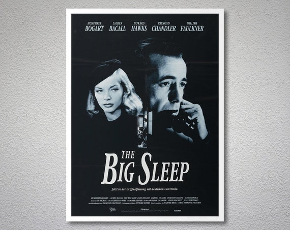 big sleep thesis Suggested essay topics and project ideas for the big sleep part of a detailed lesson plan by bookragscom.