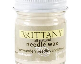 Brittany Knitting Needle Crochet Hook Wax 1 oz Bottle