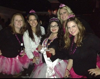 Bachelorette party tutu set sale