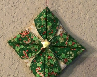 Candy Cane/ Star Ornament