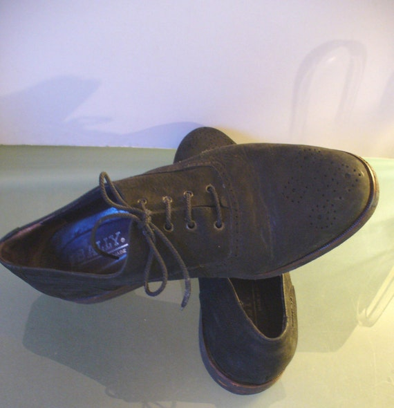 Vintage bally shoes italy