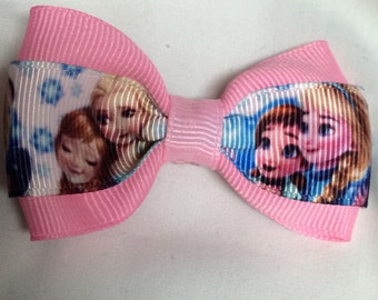 Sisters forever Hair Bow - 2 inches