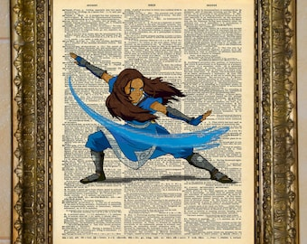 Avatar: The Last Airbender Dictionary Art Katara