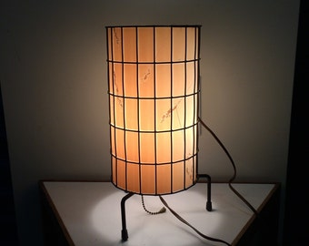 Paul Mayen, wire table lamp. Mid century modern design. c. 1956.