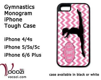 Gymnastics Monogram iPhone Tough Case - iPhone4 iPhone 5 iPhone 6