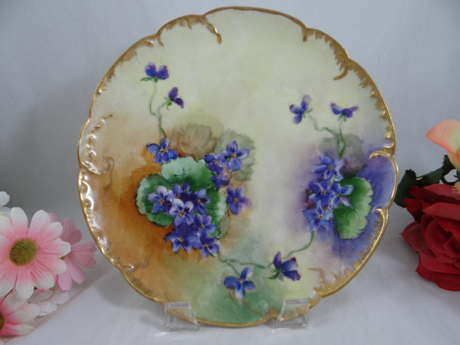 1880s Hand Painted Limoges France Haviland Amp Cie Hand Painted