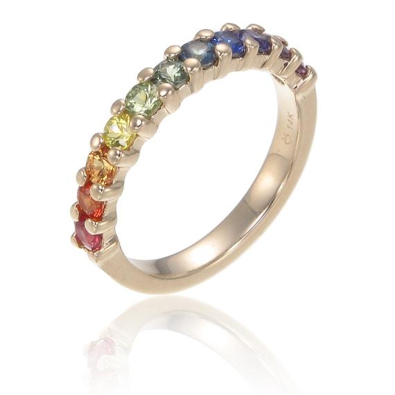 gay mens engagement ring wedding band 14k yellow gold by With gay wedding rings san francisco