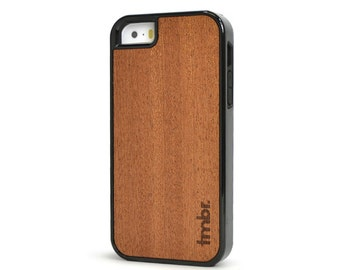 iPhone 5s Wood Case, iPhone 5S Wood Case, Shockproof Rosewood iPhone 5 Case - SK-R5