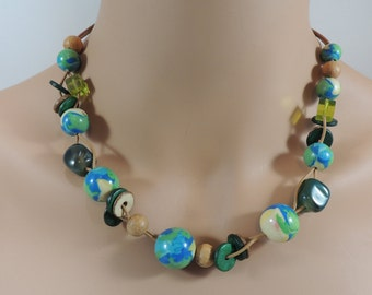 Vintage Artisan Created Necklace