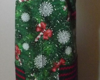 Christmas Candy Cane, Snow Flake Holiday Apron