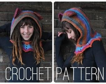 Crochet Pattern - Grateful Dead Dancing Bear Hood