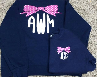 Mommy and Me sweatshirts