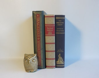 Mid-Century Books - Office Decor - Good Reading - 1940s