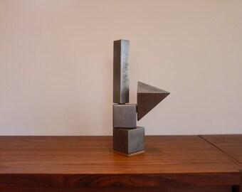 Original metal sculpture.