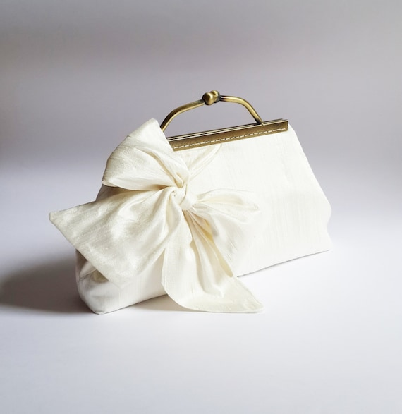 Ivory Wedding Clutch Bridal Clutch Clutches By SheetaDesign