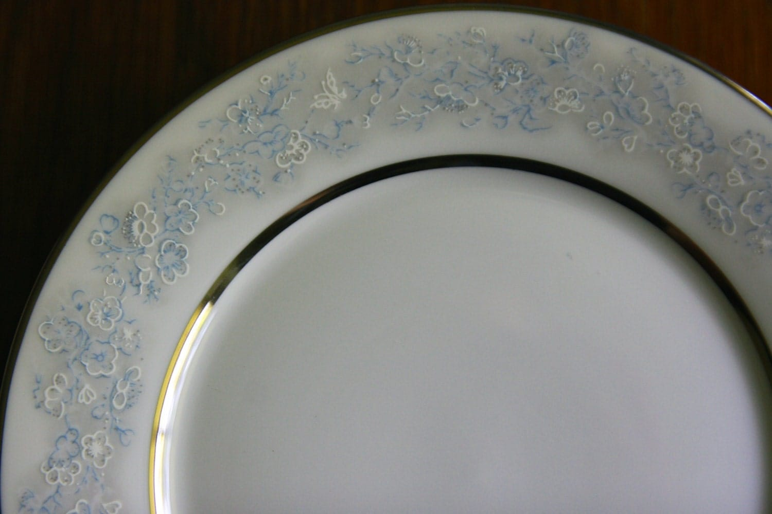 Vintage Oxford Bone China Lenox Twilight Dell Bread And Butter
