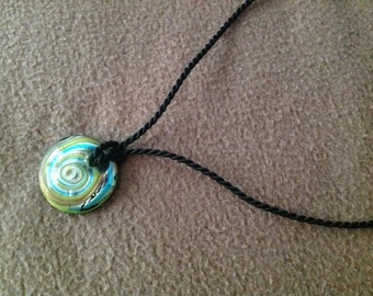 Vintage Murano Glass Pendant Necklace