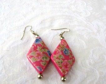 Rose Garden,Earrings  / 3 Styles / Listing for 1 / women / jewelry /  pierced / teen jewelry / women's jewelry