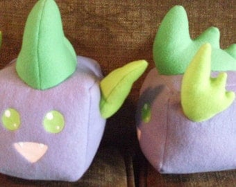 My Little Pony Spike Sugar Cube Plushie