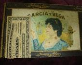 Garcia Vega Cigar Box