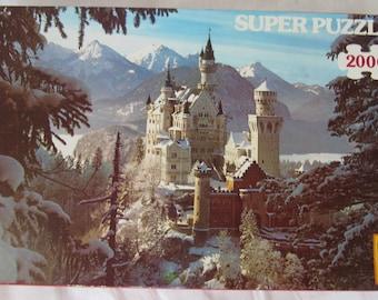 Super Puzzle German 2000 piece Winter Wonderland